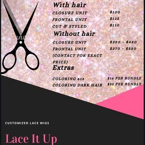 Customized lace wigs